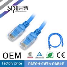 SIPU 0.5 м, 1 м, 2 м, 3 m, 5 m Лучшая цена UTP FTP патч-корд, 7 * 0,18 мм голые Купер cat6 патч-корд Цена
