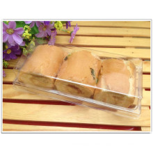 wholesale clear plastic PP/PET bread/cake box (food packing box)