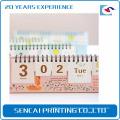 China manufacturer direct selling customized design desktop calendar