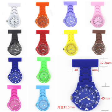 Colorful Nurse Silicone Quartz Watch