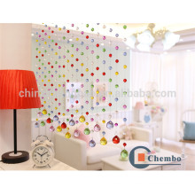 Hot sale room divider curtain crystal beaded curtain colored