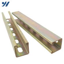 Corrosion Resistance steel strut channel,c channel beam