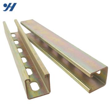 Canal de contrefiche en acier de résistance à la corrosion, faisceau de canal c
