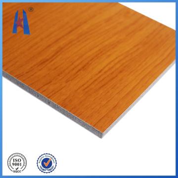 Aluminum Sheet Wall Cladding Wooden Panel