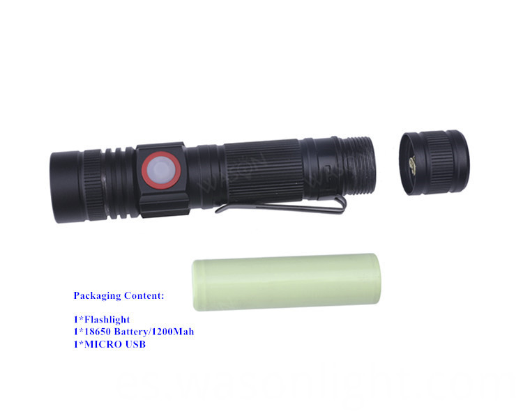 18650 Flashlight Led