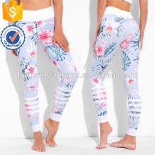 Muticolored Botanical Print Leggings OEM/ODM Manufacture Wholesale Fashion Women Apparel (TA7031L)