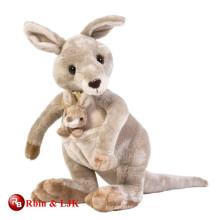 custom promotional lovely baby kangaroo plush toy