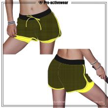 Frauen Polyamid Nylon High-End Qualität Yoga Hosen Shorts
