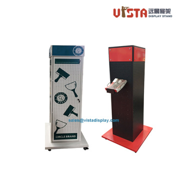Custom+Heavy+Duty+Tool+Metal+Rolling+Display+Stand