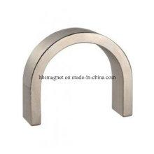 Aimants du moteur au néodyme, forme du segment d'arc pour le générateur de vent