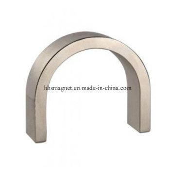 Imanes de motor de neodimio, forma de segmento de arco para generador de viento