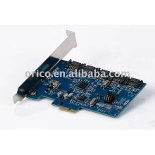5Bay PCI-E Disque dur interne Raid Express Card