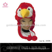 Red Birds Winter Hat New Design