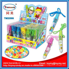 Promotional Toy Colorful Pen with Candy