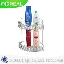 Металлическая проволока 2-уровни ванной стеллаж для хранения