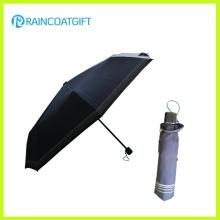 """21"""" *8k Wholesale Deep Blue 3 Folding Sun Umbrella"""