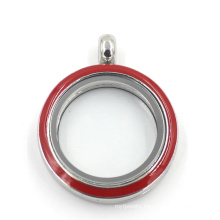 Various Color 316L Stainless Steel Jewelry Glass Floating Fashion Locket
