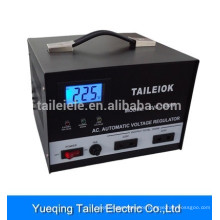 Voltage Stabilizer SVC-1500 with rotary switch, LCD meter display