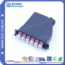 Vente chaude de cassettes de fibre optique de MPO Lgx