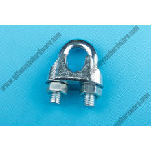 Us Type Malleable Wire Clamp Rigging Hardware for Fastener
