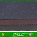 Diseño de corazón Dobby Poly Semi Memory Fabric para prendas de vestir