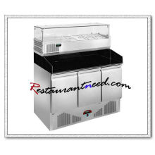 R316 3 Doors Static Cooling Pizza Prep Station