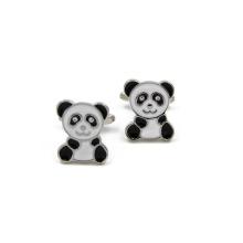 VAGULA qualité Panda Mancuerna boutons de manchette (HLK35142)