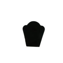 Soporte de exhibición grabado del collar de la multitud negra al por mayor (NS-BFN1)