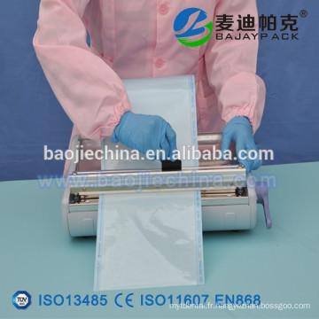 Bobine plate de stérilisation de cachetage de la chaleur 50mm x 200m EN868