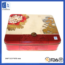 Metal Moon Cake Box Packaging