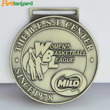 Custom Hot Sale Sport Medal With Ribbon