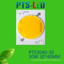 30W/40W/50W AC COB LED alta qualidade 110V 220V Driverless