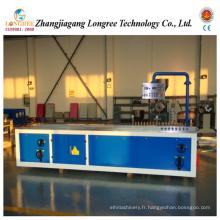 Machine de profil de PVC / WPC, plate-forme en plastique et ligne d'extrusion de fenêtre