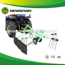 Rotator de heno rotativo, henificadora de heno, rastrillo de tractor y henificadora