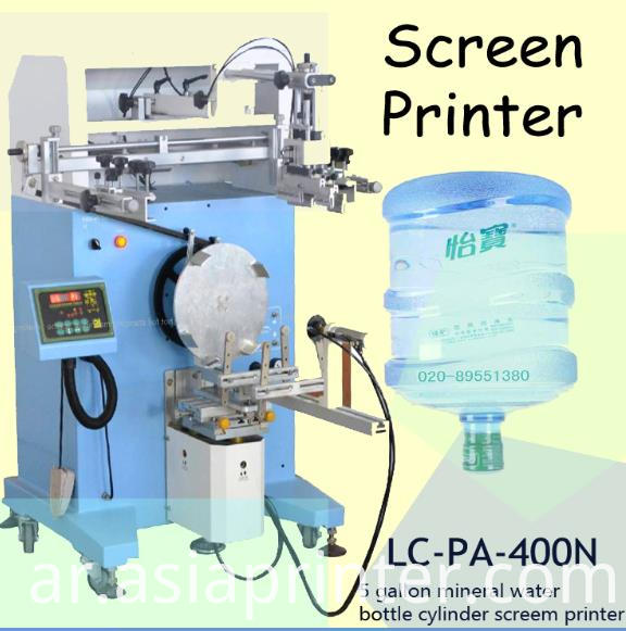 Mineral Water Bottle Screen Printing Machine