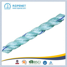 PP 3 Strands Twisted Danline Rope para Supermaket Hot Sale