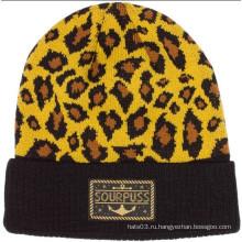 Леопард печати шапочка Hat (XT-B042)