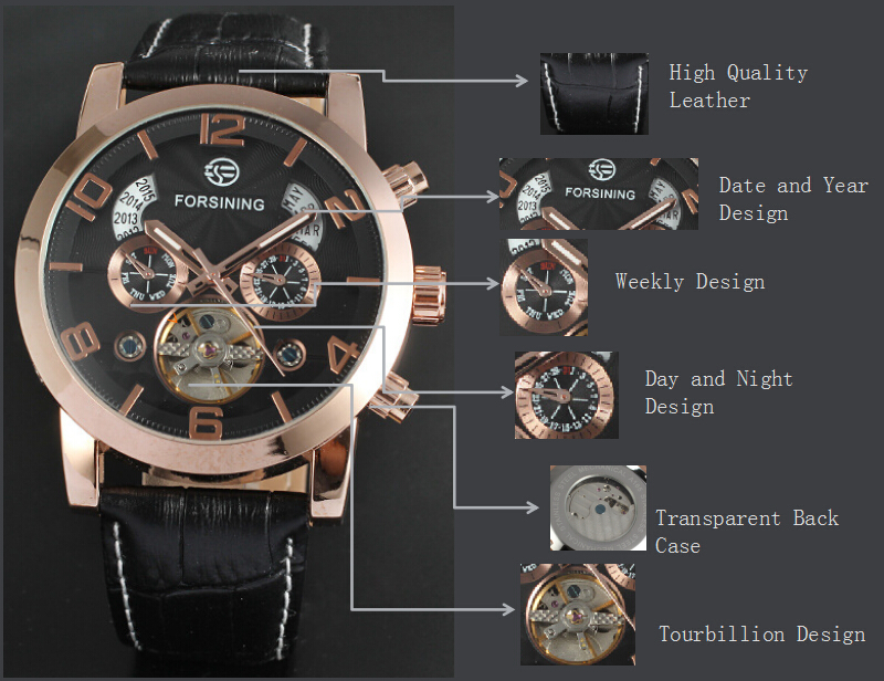 OEM/DOM mens Automatic Movement Watches