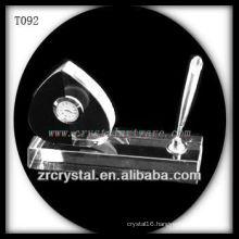 Wonderful K9 Crystal Clock T092