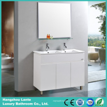 White Color Wall Mounted Bathroom Vanity Cabinet Sets (LT-C008)