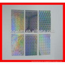 Silber PET-Laserfolie