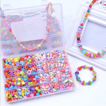 Hot Sale DIY String Beads Ensembles de jouets pour filles Jouets éducatifs