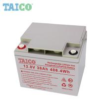 Deep Cycle 3000 Times Long Life 12.8V 38Ah Lithium Lifepo4 Solar Battery