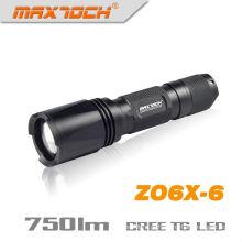 Maxtoch ZO6X-6 750 Lumens 1 * 18650 IPX7 Cree T6 XM-L Zoom