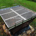 BBQ Grill Stainless Steel diperluas Mesh Logam