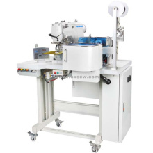 Automatic Shoes Ribbon Loom Attaching Sewing Machine