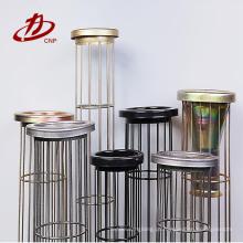 Forneça a gaiola ou o quadro industrial do apoio do saco de filtro do coletor de poeira