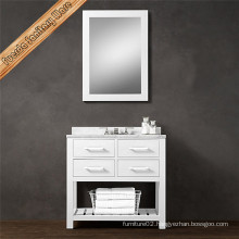 Bathroom Furniture Mirror and Cabinet in Modern Style