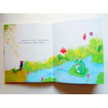 Impressão de livros de cores completas Livro de crianças Livro duro Impressão de livros