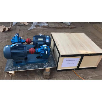 Explosion-proof heavy fuel oil cycloid gear pump